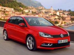 Снимки нового поколения VW Golf появились в Сети