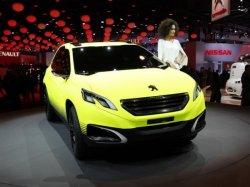 В следующем году концепт Peugeot 2008 запустят в серийное производство