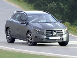 Mercedes-Benz планирует выпуск мини внедорожника в 2015 году