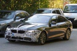 BMW 5-й серии готовится к фейслифтингу