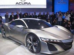 Серийная версия Acura NSX будет показана в Детройте