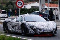Фотошпионы сфотографировали суперкар McLaren P1
