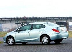 Выход нового гибридного Honda Civic Hybrid