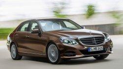 В Сети появились снимки обновленного Mercedes E-class.