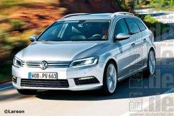 Новый VW Passat