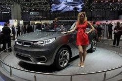 Новый автомобиль от компании Ссангйонг