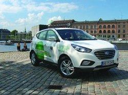 Первые серийные Hyundai на водороде
