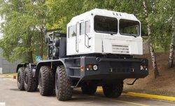 Новый минский тягач МЗКТ-742910