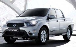 SsangYong Actyon Sports обзаведется бензиновым мотором