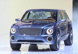 Bentley собирается строить серийный внедорожник