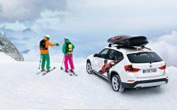 Немецкий кроссовер BMW X1 получил специальную версию для лыжников