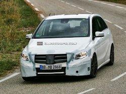 Начались тесты автомобиля Mercedes-Benz B-Class