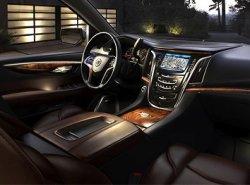 Рассекречена внутренняя начинка интерьера автомобиля Cadillac Escalade