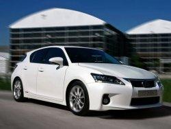 Плановое обновление Lexus CT 200h состоится через год