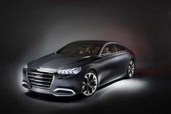 Показаны первые фотографии нового седана Hyundai Genesis
