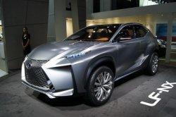 Токийская премьера Lexus LF-NX обещает быть интересной
