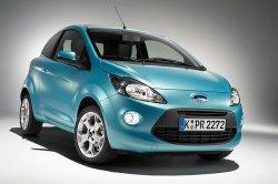 Возрожденная разработчиками модель Fiesta  предстала в новом образе Ford Ka