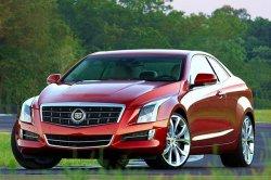 Купе Cadillac ATS появится в следующем году