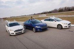 Начались испытания Ford Fusion Hybrid с автопилотом