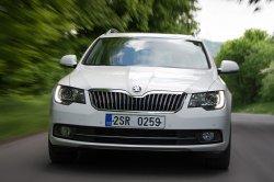 Модель Škoda Superb получила новую платформу