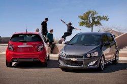 Chevrolet Aveo получил заряженную модификацию RS