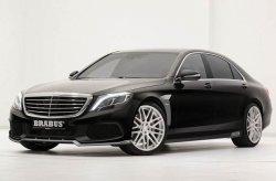 Новый Mercedes-Benz S-Class от тюнеров из ателье Brabus