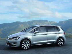 Концепт Volkswagen Golf Sportsvan был представлен на автосалоне
