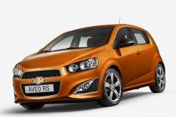 В США был показан новый форсированный красавец Chevrolet Aveo