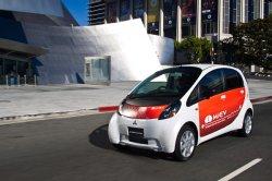 Mitsubishi может похвастаться электрокарами i-MiEV в России