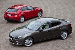 Новая модель автомобиля 2014 года Mazda 3
