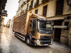 Грузовики Volvo FE и Volvo FL стали более приспособленными для городского и ...