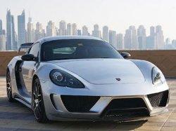 Тюнинг Porsche Cayman от ателье Royal Customs