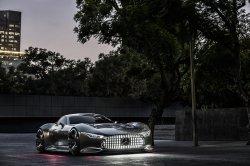 Ожидается появление виртуального суперкара Mercedes-Benz AMG Vision Gran Tu ...
