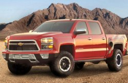 Модификация пикапа Chevrolet Silverado, которая после доработки получила пр ...