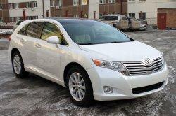 Часть автомобилей Toyota Venza будет отозвана для устранения неисправности