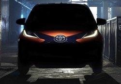 Первые тизеры Toyota Aygo