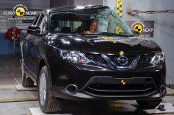 Новый Nissan Qashqai порадовал высокими результатами краш-тестов
