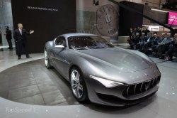 Maserati представила купе Alfieri, как основу для будущих моделей