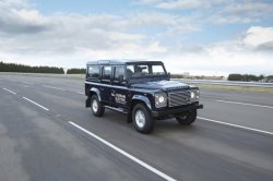 Элетрокар от Land Rover пока находится только в перспективных планах компан ...
