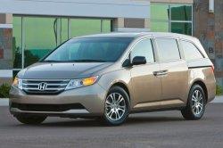 Отзыву подвергнется множество автомобилей Honda Odyssey