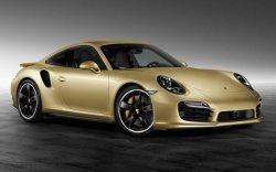 Porsche 911 Turbo получил GOLD оттенок
