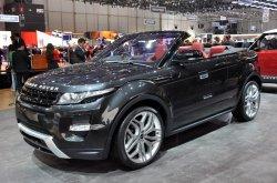 Range Rover в кузове кабриолет - это реальность