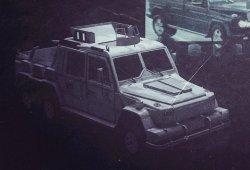 Инженеры из Dartz сделали бронированный автомобиль Mercedes-Benz G 63 AMG 6 ...
