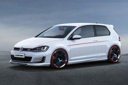Улучшенный Volkswagen Golf R от ателье Oettinger