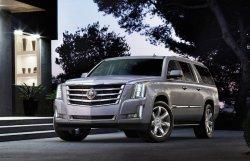 Два мощных внедорожника от компании Cadillac