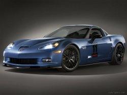 Chevrolet озвучил характеристики Chevrolet Corvette Z06