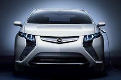 Компания Opel планирует выпускать электромобили