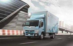 Mitsubishi разработала электрический грузовик