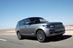 Компания Land Rover обновила свои внедорожники Range Rover
