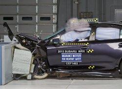 Subaru WRX прошел американский краш-тест
